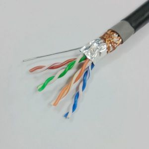 Factory Ethernet Cable Cat 5e SFTP Solid Copper 305m pictures & photos