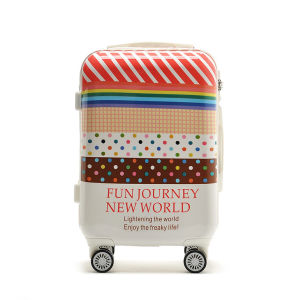 Customized PC Full Printing Luggage Made in China
