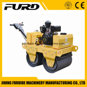 550kg Double Drum Walk Behind Vibratory Roller Compactor pictures & photos