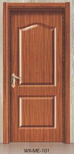 Low Price Hotsale Interior Wooden Melamine Door (WX-ME-101) pictures & photos