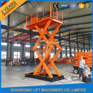 Hydraulic Fixed Scissor Hoist Goods Lifter for Sale pictures & photos