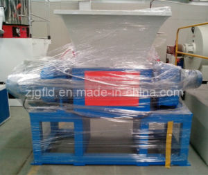 High Efficiency Double Shaft Plastic Shredder Machine pictures & photos