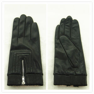 Lady Fashion Leather Gloves (JYG-25169) pictures & photos