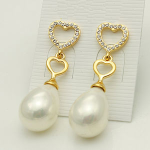 Fashion Pearl Jewelry Earrings (IMG077-1) pictures & photos