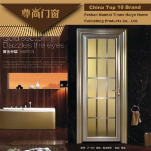 Champagne Colour Inlaided Aluminium Doors for House Decoration pictures & photos