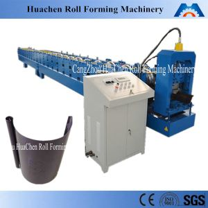 Half Round Steel Water Gutter Making Machine