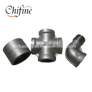 Stainless Steel 304 Investment Casting Metal Pipe Fittings pictures & photos