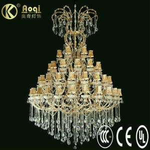New Modern Design Luxury Crystal Chandelier Lamp (AQ50002-24+18+12+6) pictures & photos