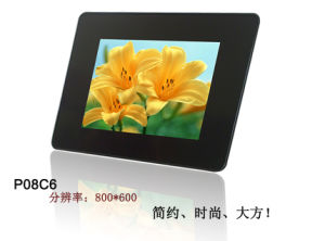 8 Inch Digital Photo Frame with Clock and Calendar Function