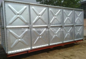 150, 000liters Galvanized Steel Water Containers/Professional Water Tank Factory