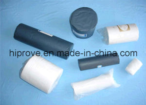 Ht-0517 100% Bleached Cotton Medical Absorbent Gauze Roll pictures & photos