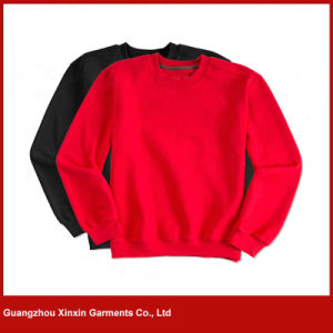 100% Cotton Plain Sweatshirt Supplier for Wholesale (T77) pictures & photos