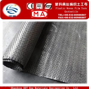 Low Price PP Woven Plastic Geotexile pictures & photos