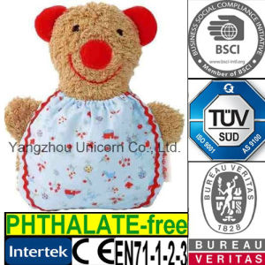 Soft Stuffed Animal Toy CE EN71 Approved Baby Bear Plush Toy