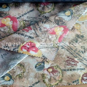 Polyester Printed Lining Satin Fabric Printed Taffeta Lining pictures & photos