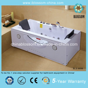 High Quality ABS Rectangle Whirpool Massage Bathtub/SPA Bathtub (BLS-8598) pictures & photos