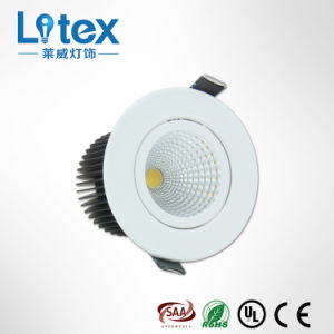 9W White LED Spotlight for Business with Epistar Chip (LX335/9W)