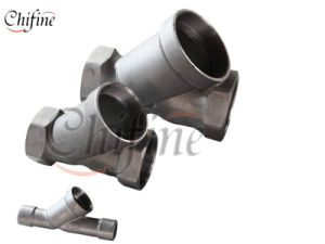 OEM Silica Sol Cast Products for Pipe Fitting Part pictures & photos