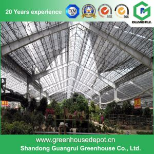 China Agriculture Vegetable/ Flower Plastic Film Greenhouse pictures & photos