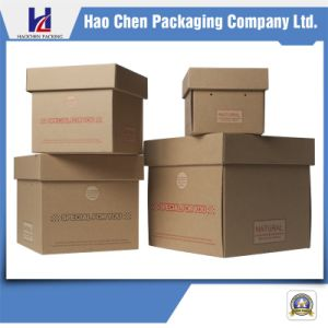 Custom Corrugated Carton Packaging Packing Gift Box pictures & photos