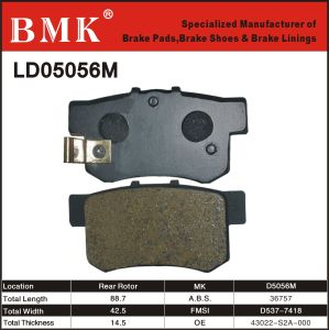 High Quality Brake Pad (D5056M) for Japanese Car pictures & photos