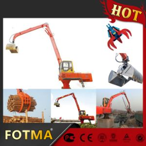 Swing Rubbish Talon Crane, Diesel Material Handling pictures & photos