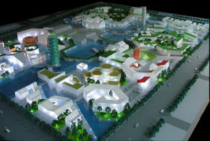 Architectural Scale Model Building, Plastic Model of City Planning (JW-115) pictures & photos