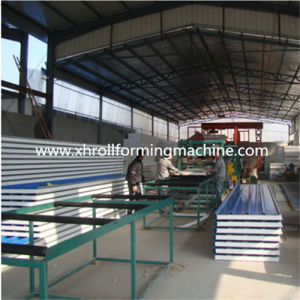 Fully Automatic EPS Sandwich Wall Panel Forming Machine (ESP Sandwich Panel Production Line) pictures & photos