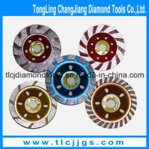 Continuous Turbo Cup Diamond Grinding Wheel for Porcelain pictures & photos