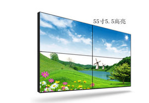 Video Wall Display with 5.5mm Ultra Narrow Bezel LED Backlight for Advertising LCD Videowall pictures & photos