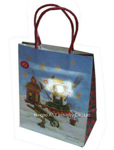 LED Light Bag, Paper Bag, Recordable Gift Bag pictures & photos