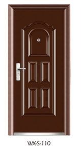 Steel Security Door (WX-S-110) pictures & photos