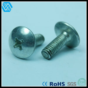 Carbon Steel Mushroom Head Phillips Screw pictures & photos