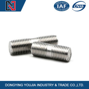 High Quality Hardened Threaded Rod DIN835 Double End Studs pictures & photos