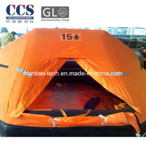 15 Person Life-Saving Inflatable Raft Approved by Solas (AZ15) pictures & photos