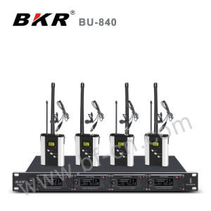 Four Channel High Quality Conference System Bu-840 pictures & photos