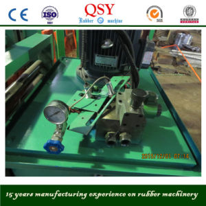 Rubber Cutting Machine with Single Blade Hydraulic Rubber Bale Cutter pictures & photos