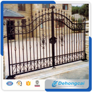 Wholesale Bespoke Wrought Iron Auto Open Gate pictures & photos