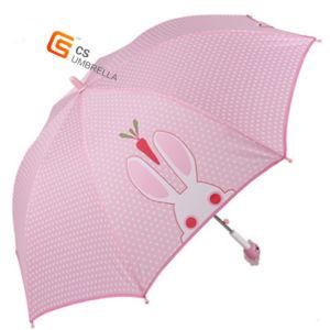 Cute Plastic Carton Handle/Outdoor Rain/Gift/ Children Folding Umbrella (YS-SK001A)