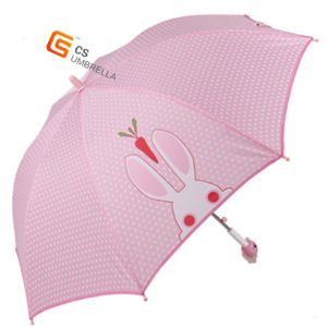 Plastic Cute Handle Outdoor Child Umbrella (YS-SK001A) pictures & photos
