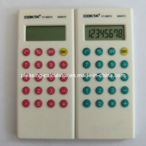8 Digits Colorful Gift Calculator, Silk-Screen The Logo (KT-8007S)