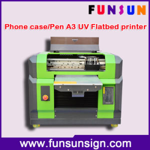 DIY Phone Case A3/A4 Size UV Printer for ID Card Printing pictures & photos