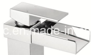 Water Fall Brass Bathroom Basin Water Tap Cupc Basin Faucet pictures & photos