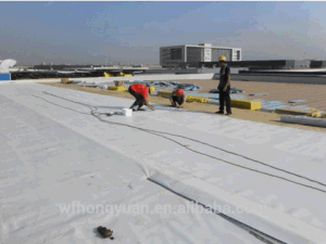 High Quality 1.2mm Thickness Polyvinyl Chloride PVC Roof Garden Waterproof Membrane with ISO pictures & photos