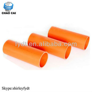 Standard 6m Long Diameter 80mm CPVC Tube Price