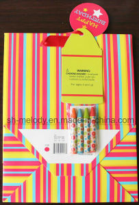 DIY Craft Paper Bag/DIY Crayon Gift Bag for Holiday & Birthday pictures & photos