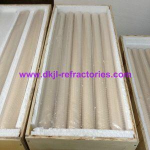 74% Alumina Ceramic Roller Ceramic Tube pictures & photos