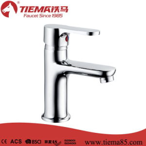 New Design Economic Single Lever Basin Faucet (ZS81003)