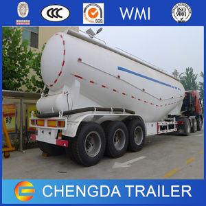 Chengda 50cbm Bulk Cement Tanker Bulker Trailer with Air Compressor pictures & photos
