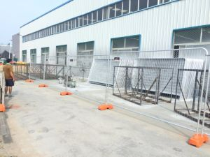 As4687 System Included Panels, Clips as Well Foot for Sale Temporary Fencing pictures & photos